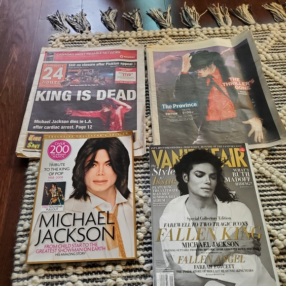 Other Michael Jackson Memorabilia Poshmark